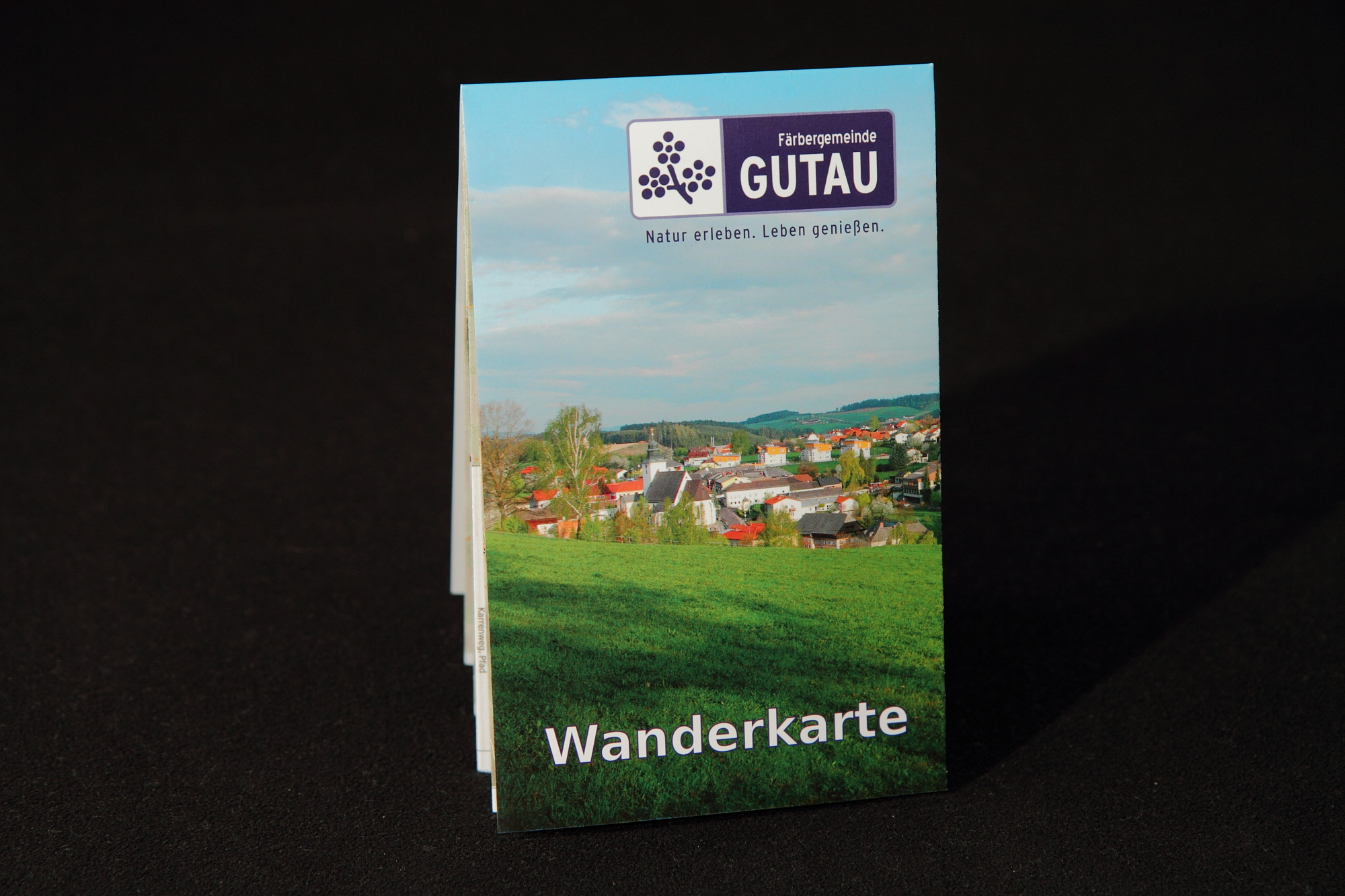 Cover page of Gutau Hiking Map