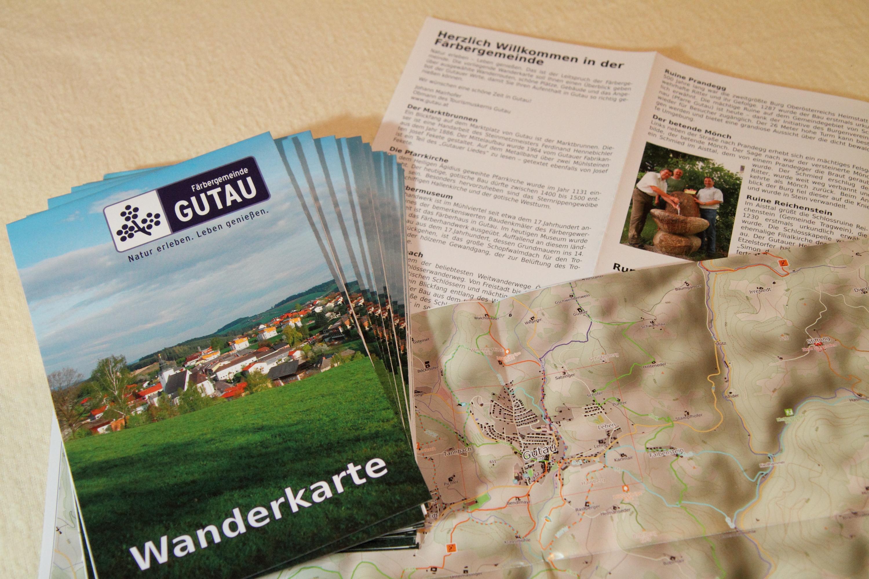 Gutau Hiking Map impressions